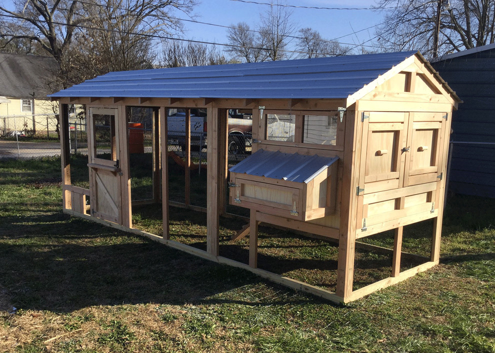 American Coop Chicken Coops Farmhouse Exterior Charleston By Carolina Coops