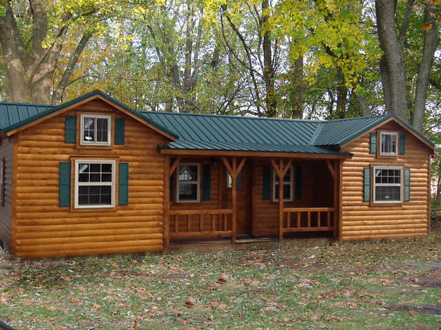 amish prebuilt fully assembled cabins delivered rustic exterior amish built home office