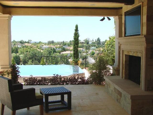 AMS Landscape Design Studios mediterranean-exterior