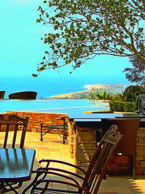 AMS Landscape Design Studios, Inc. mediterranean-exterior