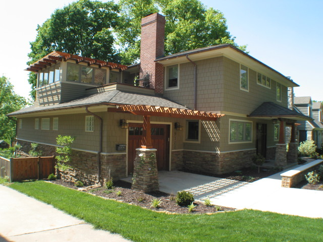Anderson Residence traditional-exterior