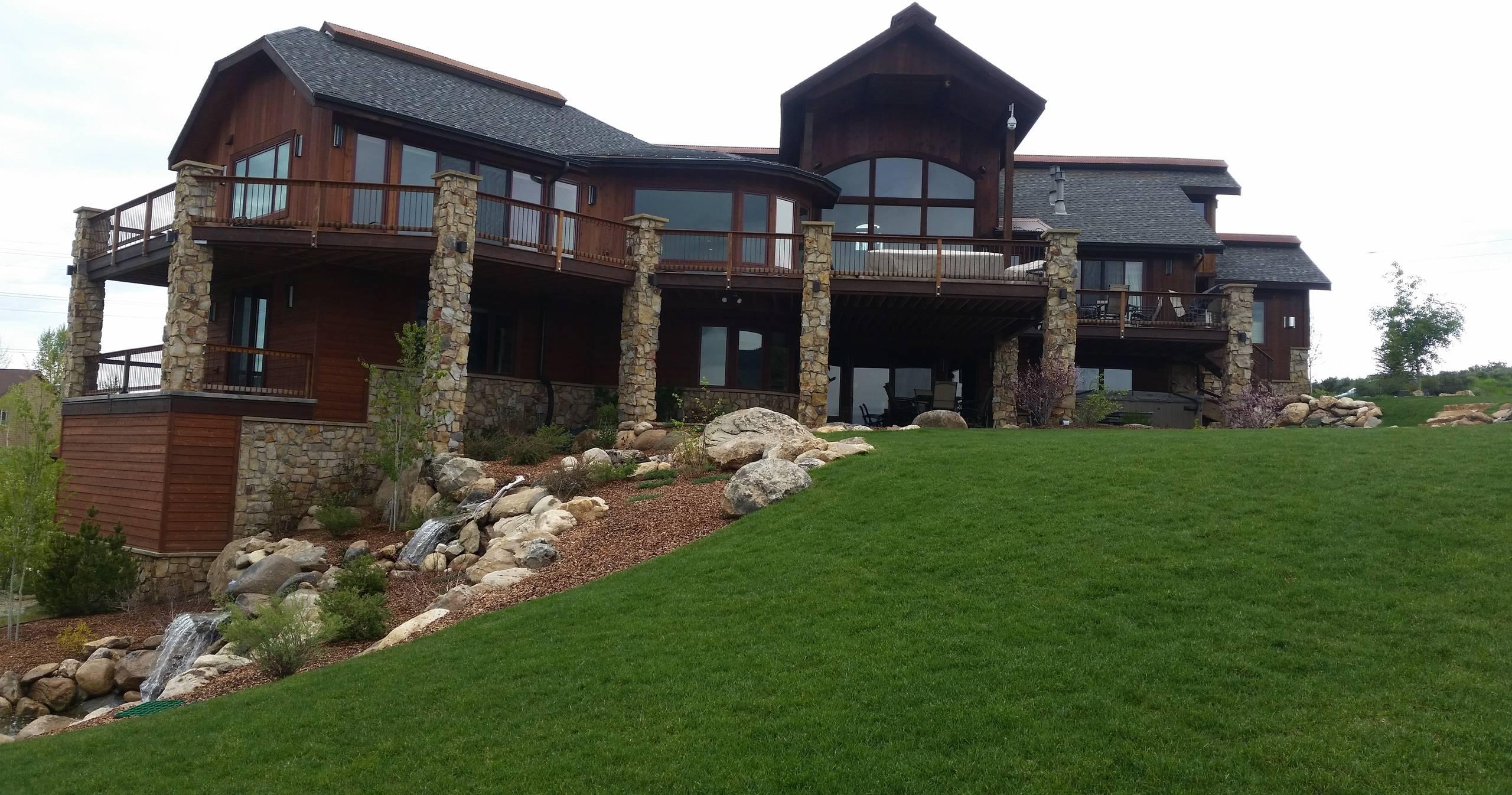 Anglers Retreat   Timber Hybrid Custom Home