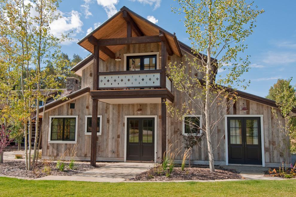 Antique Barnwood Siding Gray Rustic Exterior Salt Lake City By Trestlewood