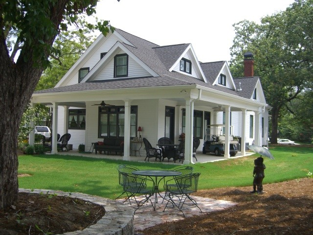 Antique Farmhouse Renovations And Second Story Addition Country Exterior