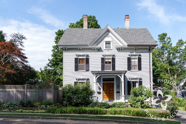 Antique Portsmouth Nh Home Traditional Exterior Other By Coastal Light Photography
