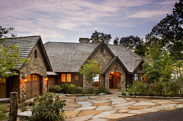 Antique Timber And Stone Traditional Exterior Other