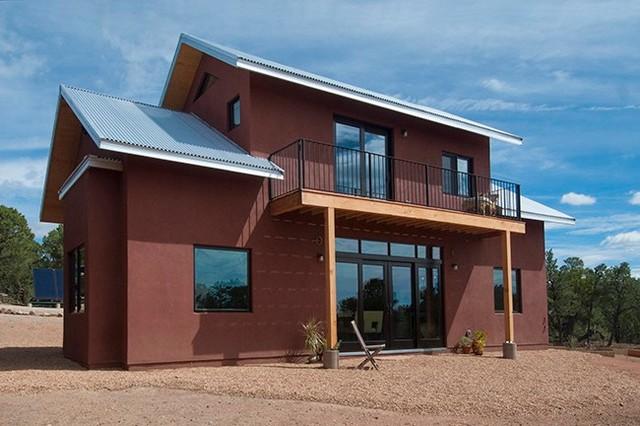 Apache Ridge Santa Fe contemporary-exterior