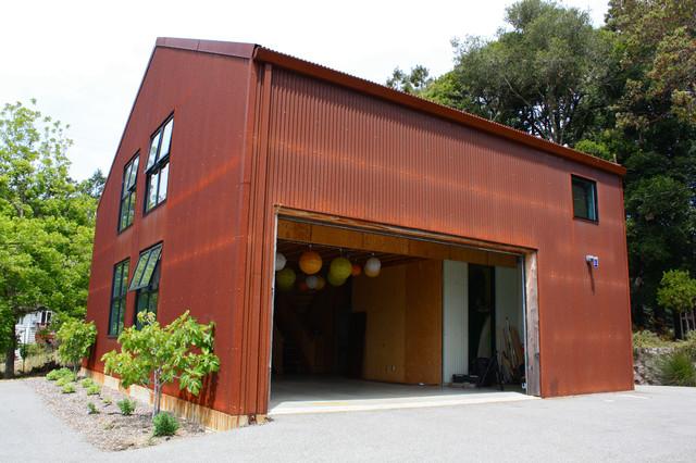 Aptos Barn contemporary-exterior