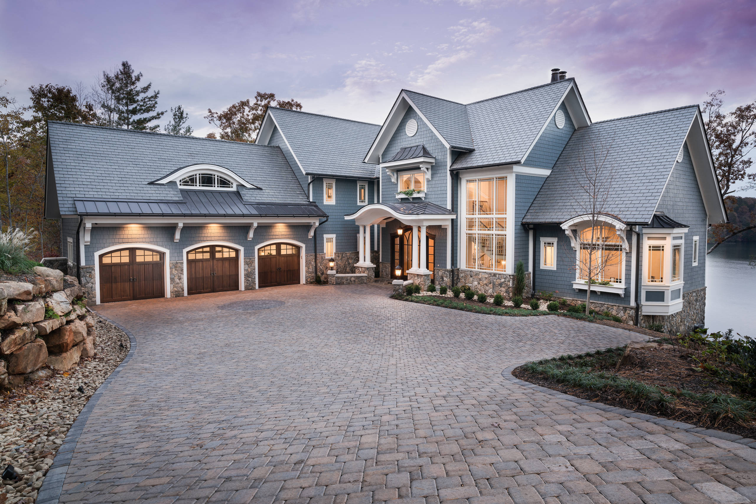 75 Beautiful Blue Exterior Home Pictures Ideas February 2021 Houzz