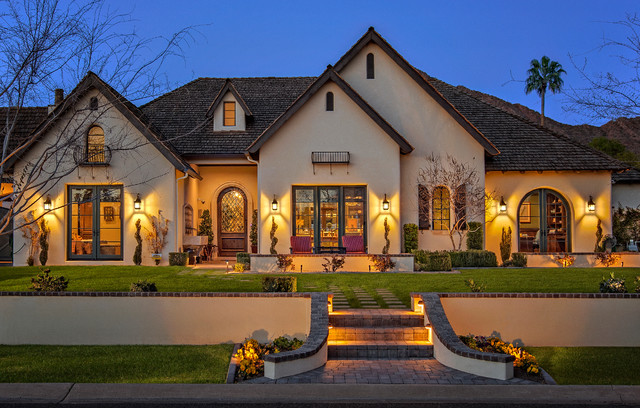 arcadia french country traditional exterior