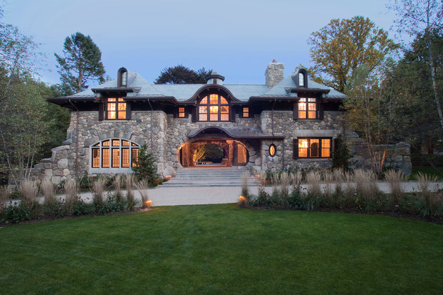 Archangel Estate, Stone Residence rustic-exterior