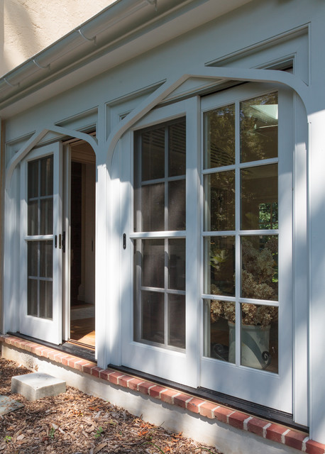 Arched Sunroom Addition Victorian Exterior
