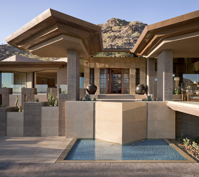 Architect: Jon C Bernhard contemporary exterior