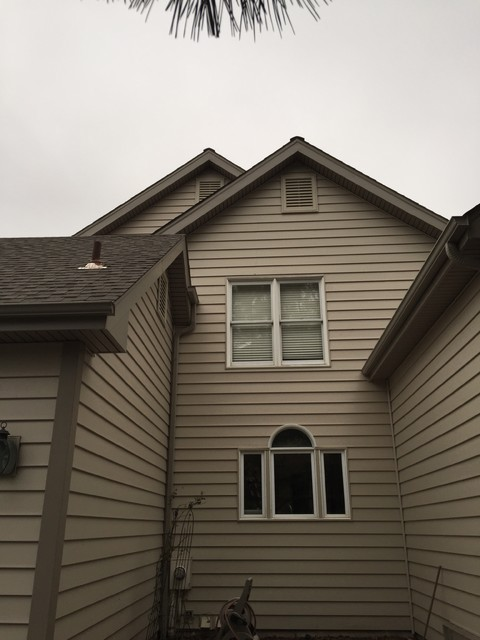 Architectural 7 Wide Insulated Siding Expresso Brown