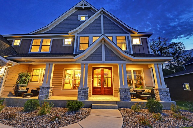 Architectural Designs House Plan 73325HS - Craftsman Jaw-Dropper craftsman-exterior