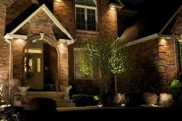Architectural lighting for Passarelli custom homes