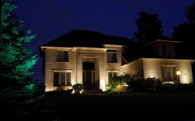 Architectural lighting eclectic-exterior