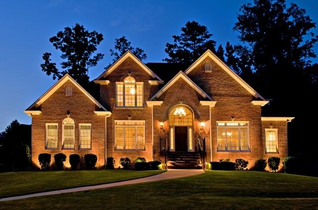 Landscape lighting birmingham al : Architectural lighting traditional exterior