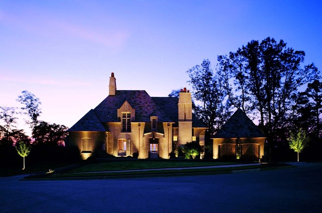 Architectural Lighting Traditional Exterior Birmingham By Outdoor Lighting Perspectives