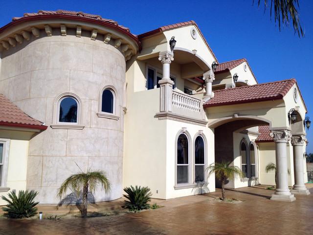 Architectural Trim And Accents Mediterranean Exterior