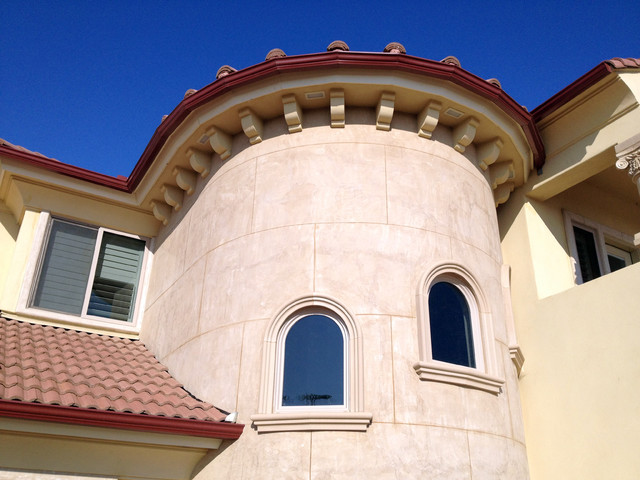 Architectural Trim And Accents Mediterranean Exterior