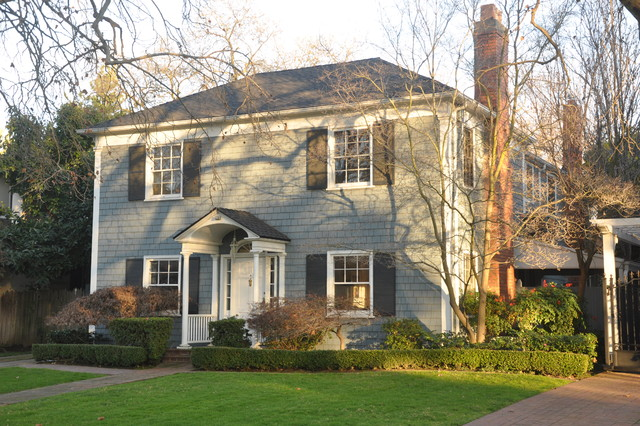Architecture Walk: Exterior Styles and Palettes traditional-exterior