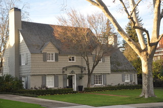 Architecture Walk: Exterior Styles and Palettes transitional-exterior