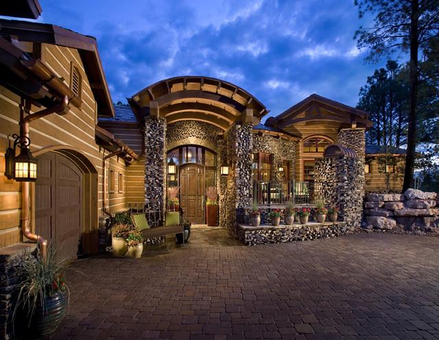Arizona Mountain Homes Traditional Exterior Phoenix