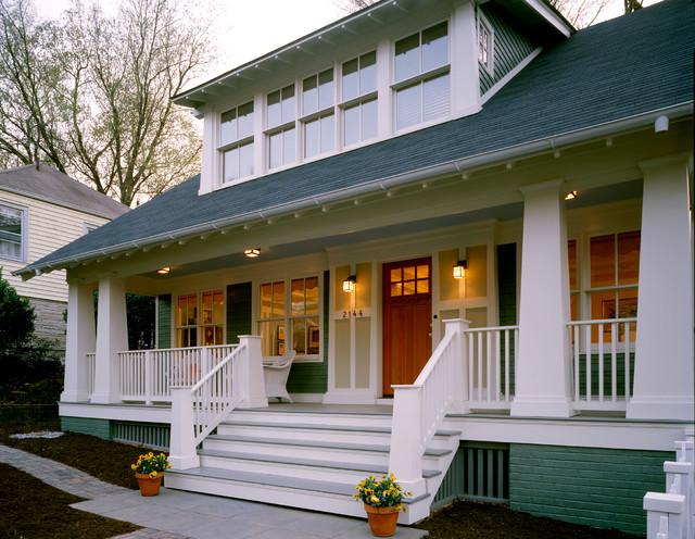 Arlington bungalow craftsman exterior dc metro by moore architects pc - Craftsman bungalow home exterior ...