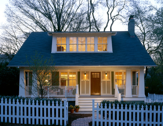 cape cod attic bathroom ideas - Arlington Bungalow Craftsman Exterior DC Metro by