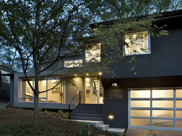 Arlington residence contemporary exterior dc metro by kube architecture Home redesign