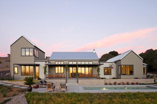 Arroyo Grande Modern Farmhouse Farmhouse Exterior san luis obispo by