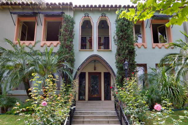 art deco apartments mediterranean exterior los