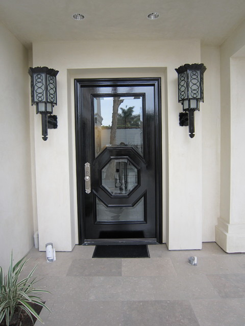 Art deco front door fixtures modern exterior san for Art deco exterior light fixtures