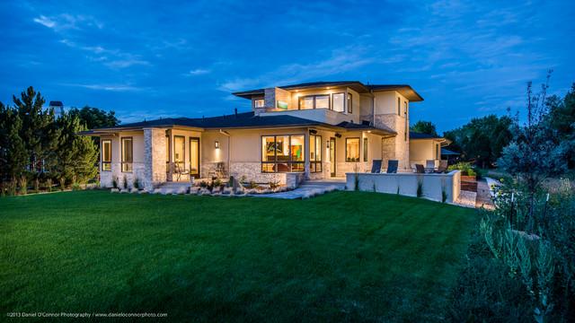 Art Lover's New Home  /  Denver, CO contemporary-exterior