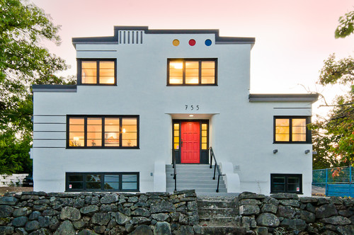 Art Moderne Heritage Home Renovation