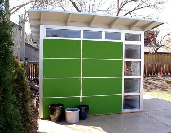 Art/office studio contemporary-exterior