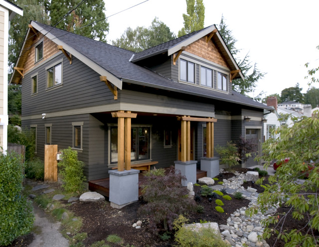 Artalejo Lacas Residence Craftsman Exterior Seattle By Cast Architecture