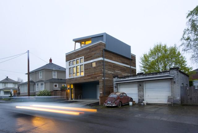 Artist S Loft Modern Exterior Portland By Ivon