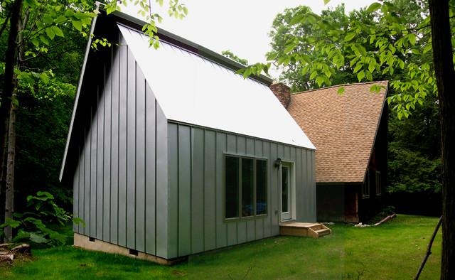 Artist Studio Addition contemporary-exterior