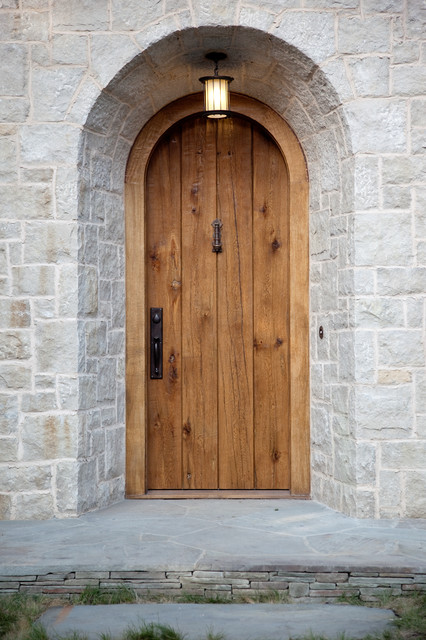 Arts And Crafts Front Door Traditional Exterior San