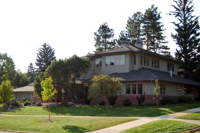 Arts and crafts exterior home photo in Denver