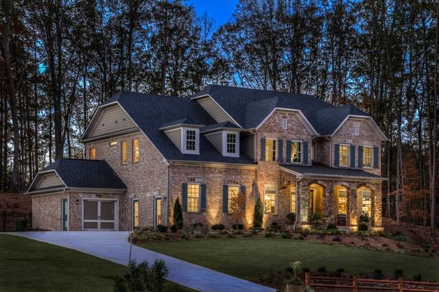 Ashton Woods Atlanta Homes - Contemporary - Exterior ... Ashton Woods Homes
