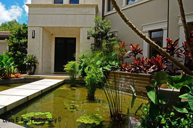Asian contemporary traditional exterior miami by for Arvida decoration inc