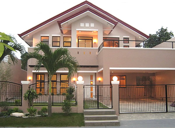 Asian house for House color design exterior philippines