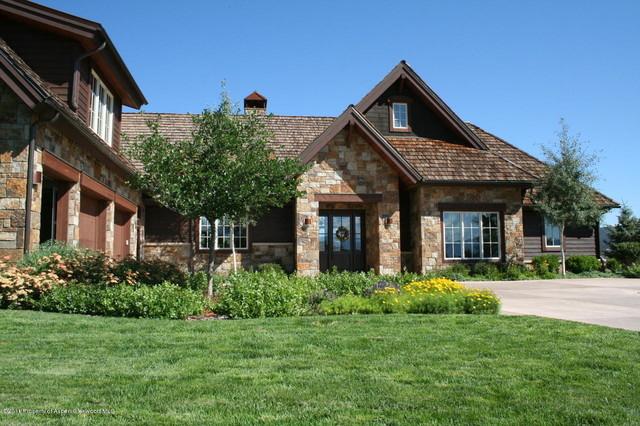 aspen glen residence traditional-exterior