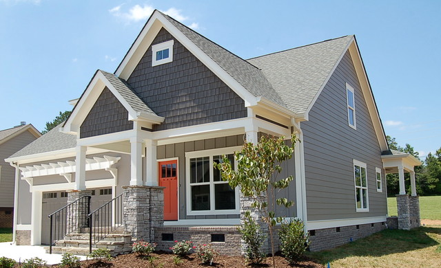 Aster Craftsman Exterior Other By Mccoy Homes Inc