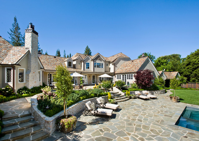 Atherton, California Estate by Markay Johnson Construction traditional-exterior