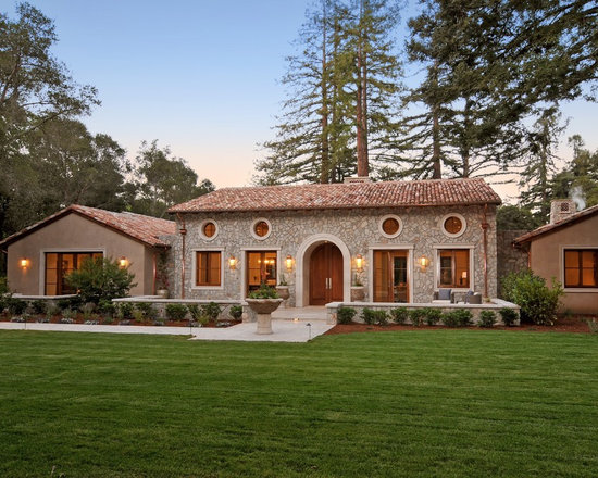 Home tuscan style exterior design ideas pictures remodel for Tuscan exterior design