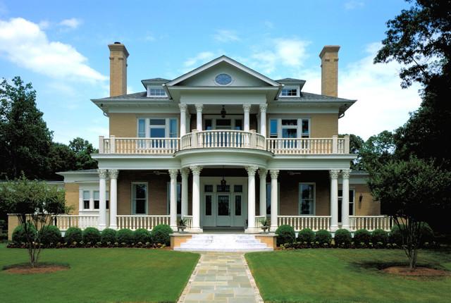 Atlanta Classical Revival Traditional Exterior
